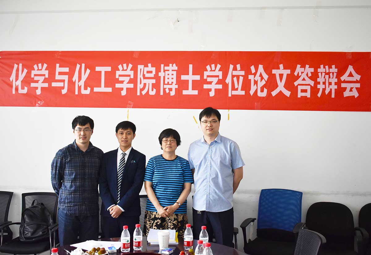 Congratulations to Junwei, Chao, and Lijie for successfully defending their PhD Thesis!